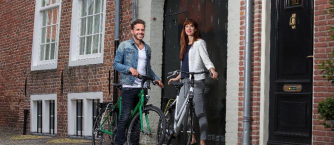 Naar kantoor fietsen? Dat doe je zo!